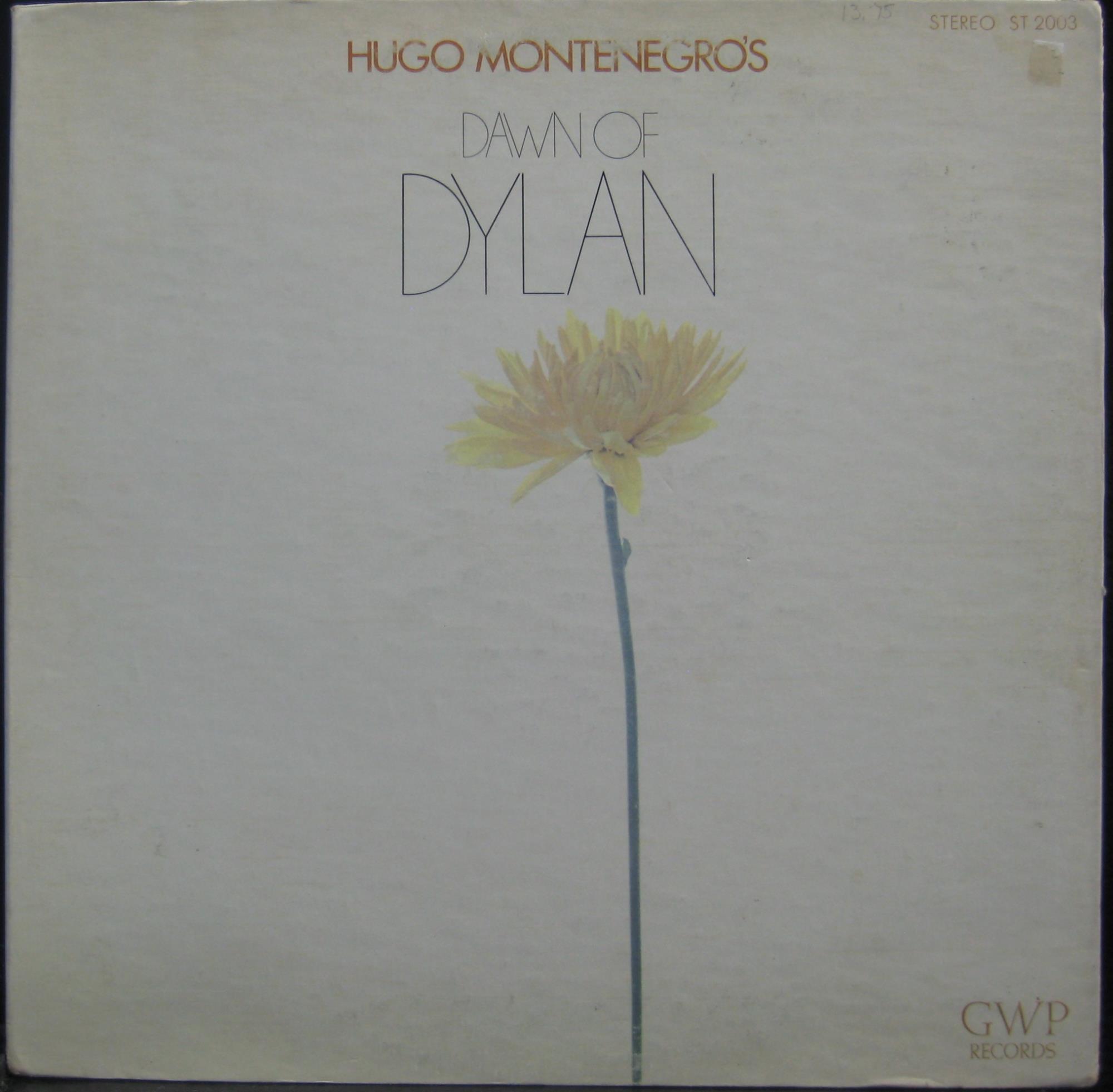 HUGO MONTENEGRO - Dawn Of Bob Dylan