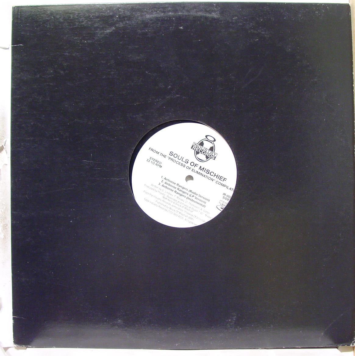 "SOULS OF MISCHIEF - Souls Of Mischief Airborne Rangers 12"" Vg+ Ir 00051 Vinyl 1999 Record (airborne Rangers)"