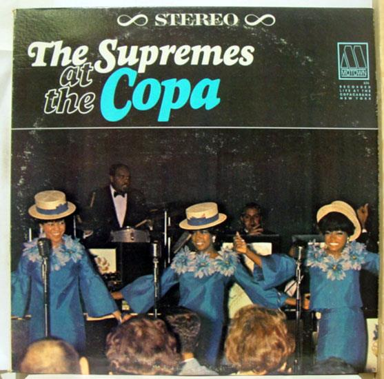 The Supremes At The Copa Lp Vg S 636 Vinyl 1965 Record