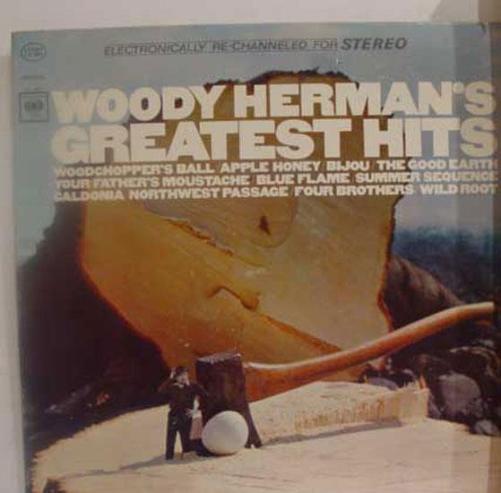 WOODY HERMAN - Greatest Hits Record