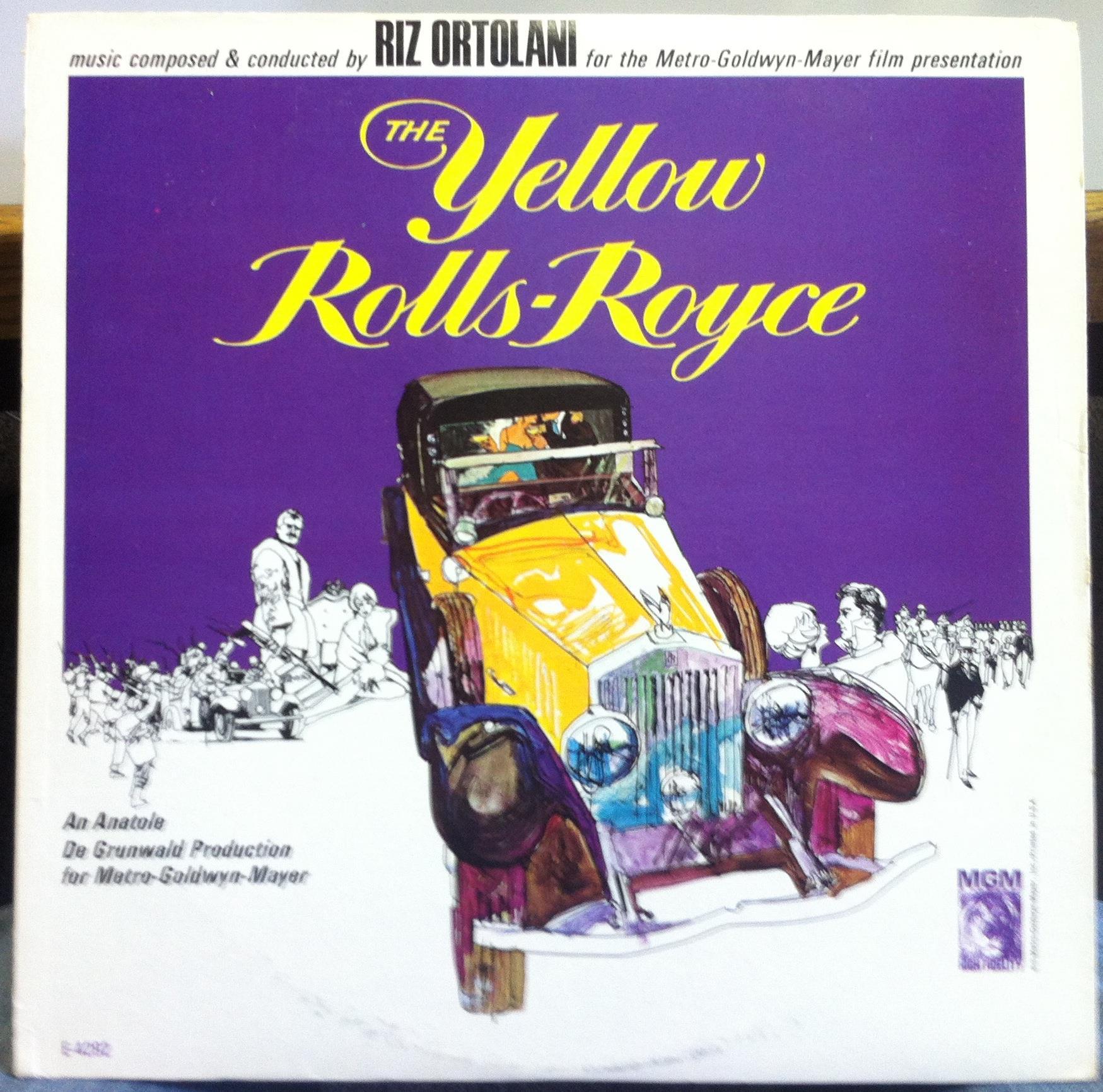 Riz Ortolani The Yellow Rolls Royce