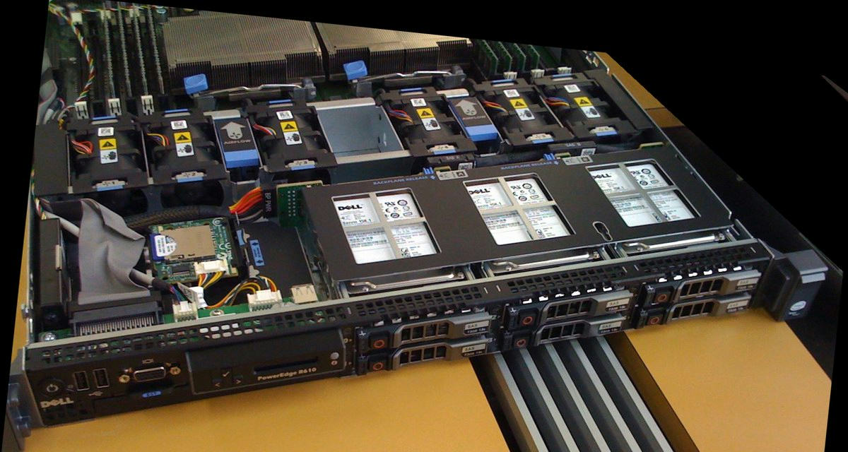 DELL PowerEdge R610 Server + 2xSix-Core Xeon 3 33GHz + 192GB RAM + 6x600GB  RAID