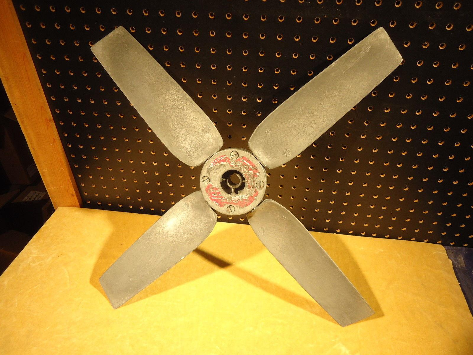 Variable Pitch Fan : Dayton quot dia variable pitch fan blade bore ebay