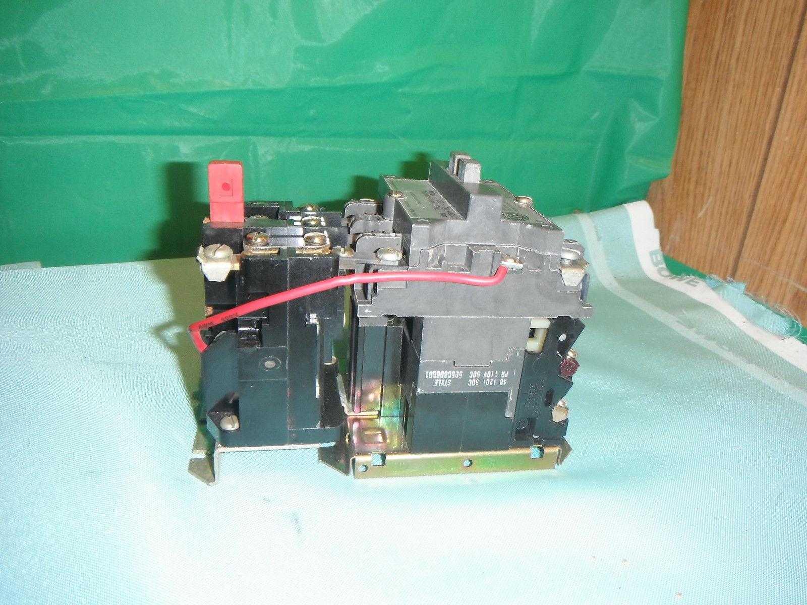 Westinghouse A200micacm 27 Amp Motor Starter W Fh41