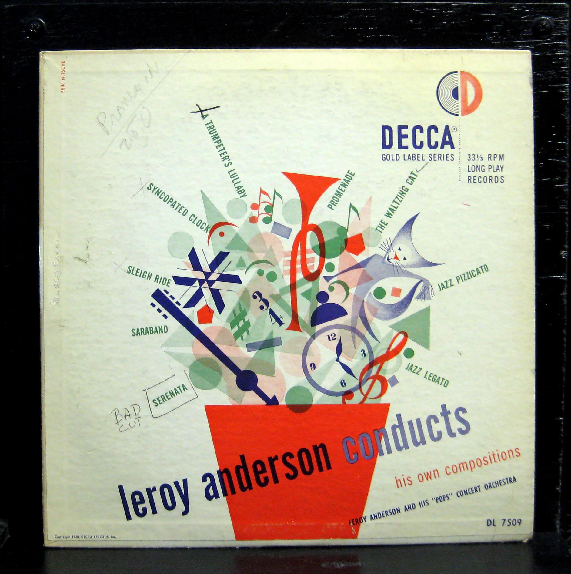 Leroy Anderson & His Orchestra - A Christmas Festival