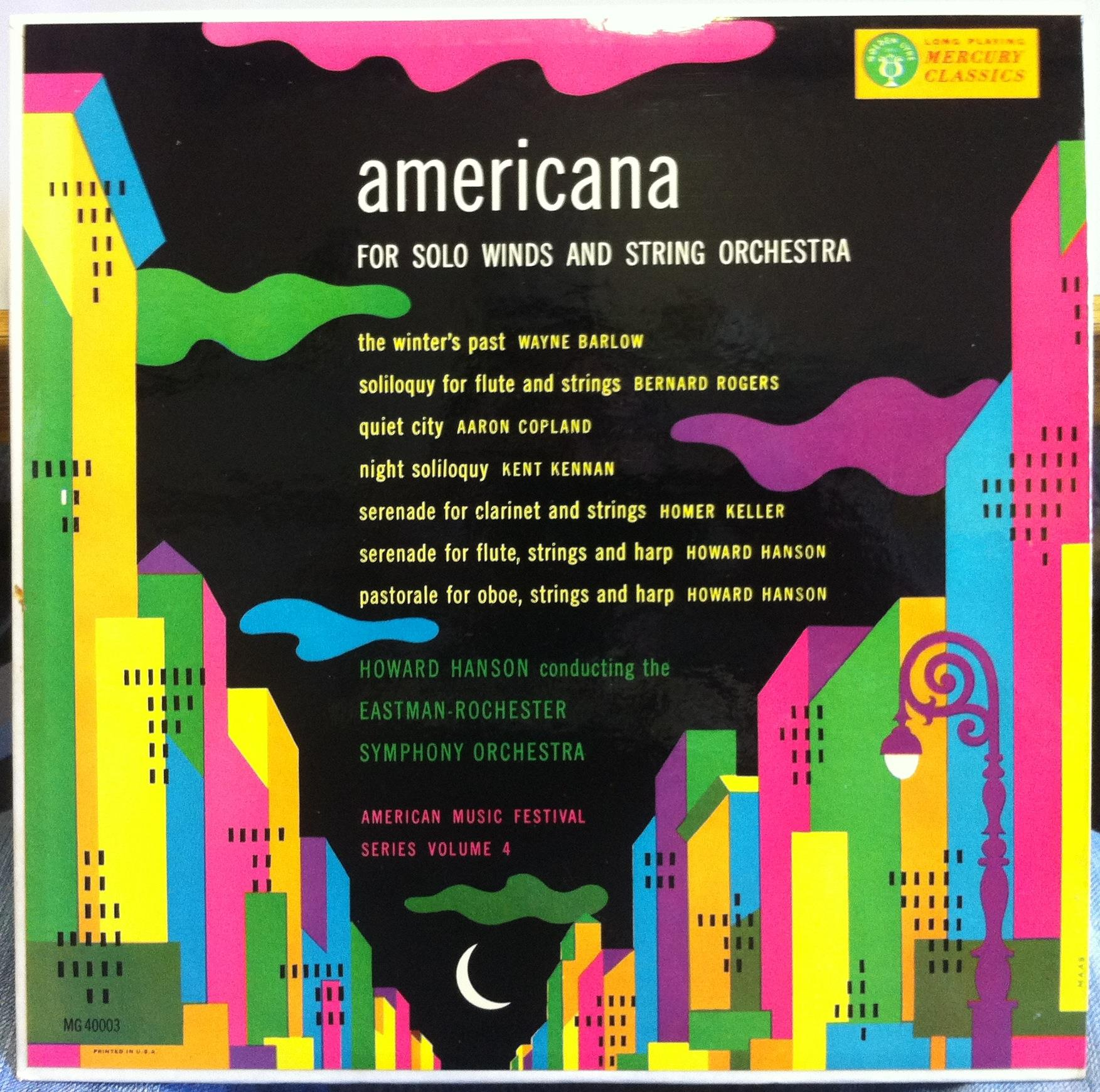 """americana by aaron copland essay Aaron copland's appalachian spring"""" captures the essence of an ideal america copland was no stranger to americana and adventure."""