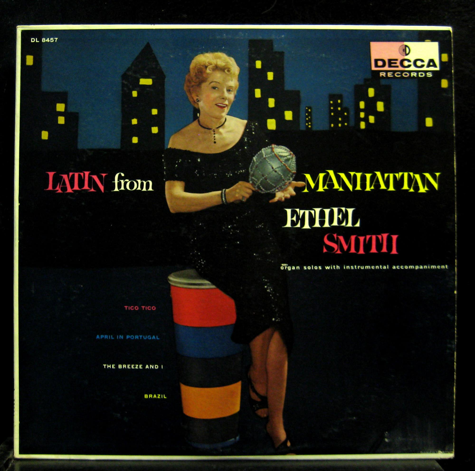 ethel latin singles Find ethel smith from a vast selection of ethel smith latin fire organ extravaganza lp sealed easy pop female vocal ethel smith- 78rpm single 10-inch.