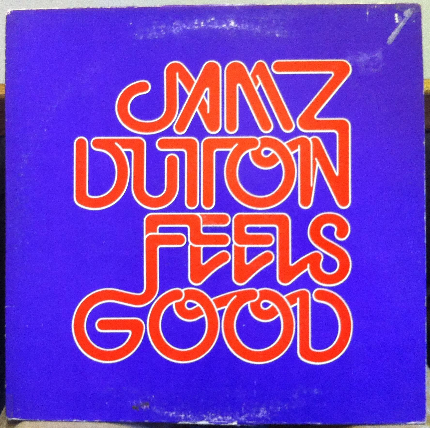 JAMZ DUTTON BAND feels good LP VG+ Private Chicago IL jazz Funk