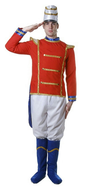 Toys For Christmas For Adults : Mens toy soldier adult christmas nutcracker costume size