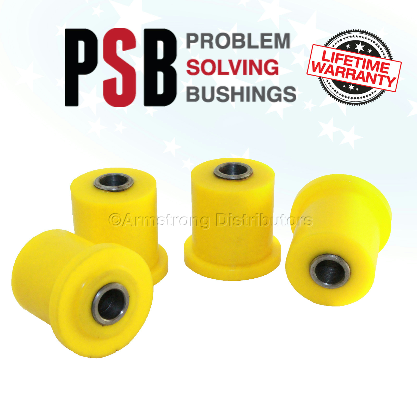 Details about 4x Front Upper Arm Bushing Kit Fits 04-07 Frontier D40 05-14  Pathfinder PSB 228