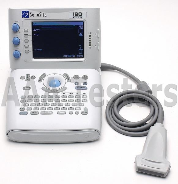SonoSite 180 Plus Portable Ultrasound System W/ L38 / 10-5