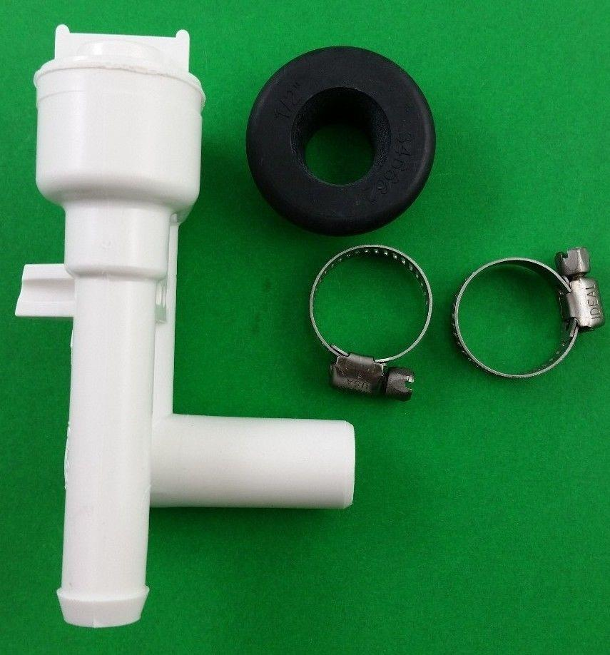 sealand 316906 dometic rv marine toilet vacuum breaker 385316906 ebay