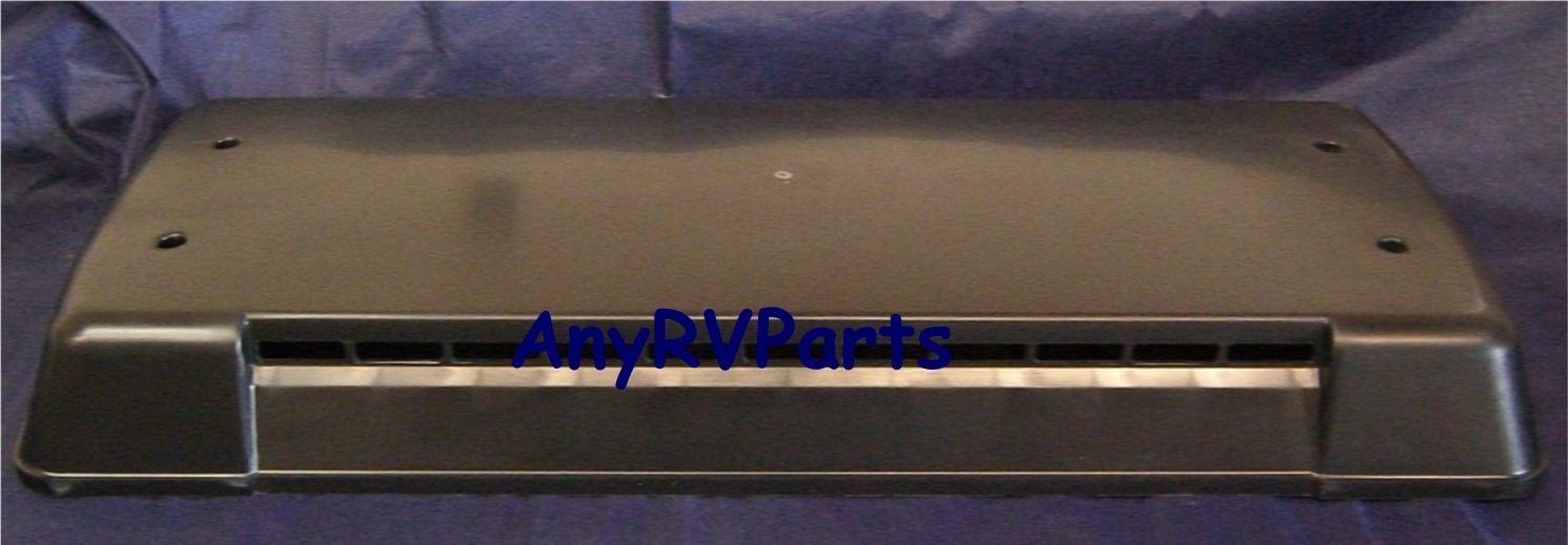 new dometic damaged rv refrigerator roof vent lid 3103634147 black ebay. Black Bedroom Furniture Sets. Home Design Ideas
