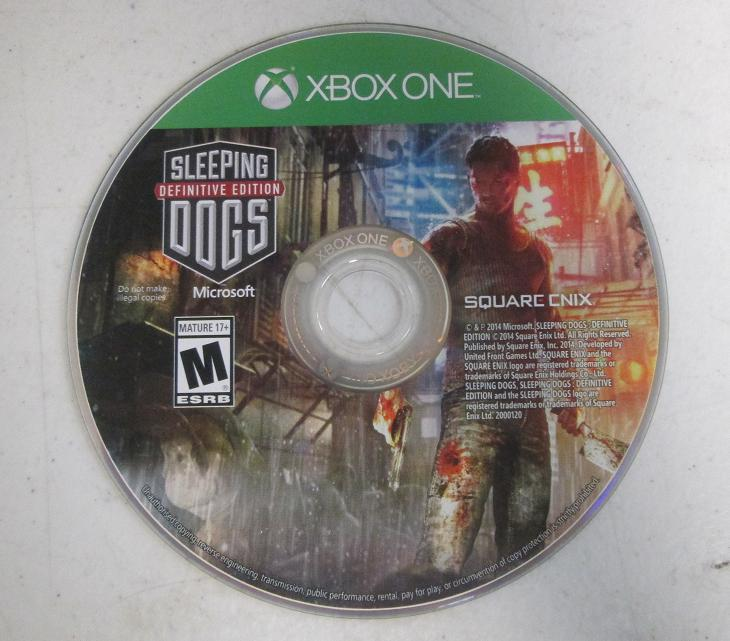 Sleeping Dogs Xbox Game Manual
