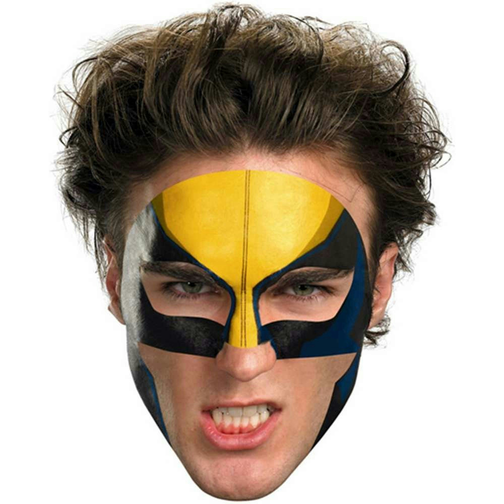 Wolverine Face Temporary Tattoo Makeup Easier Than Mask | eBay