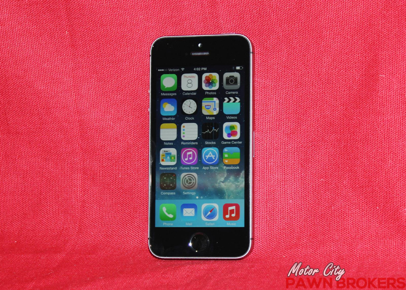 apple iphone 5s me341ll a 16gb space gray verizon. Black Bedroom Furniture Sets. Home Design Ideas