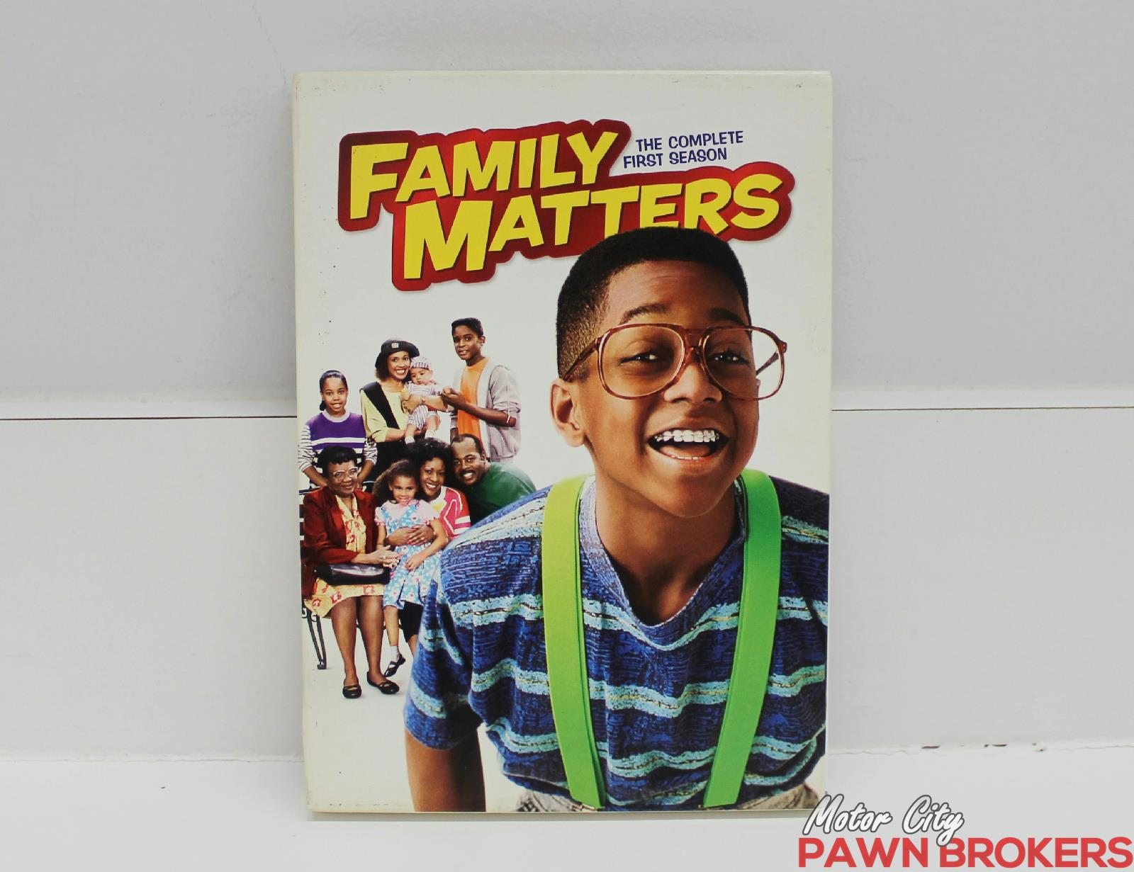 Family matters the complete first season dvd 2010 3 disc for Motor city pawn shop