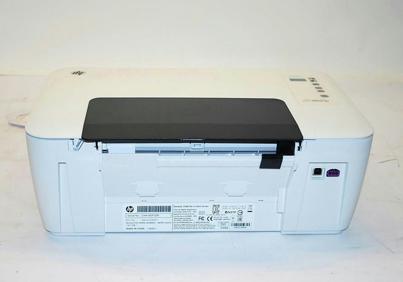 Hp Deskjet 2540 Wireless Color Aio Inkjet Printer As Is