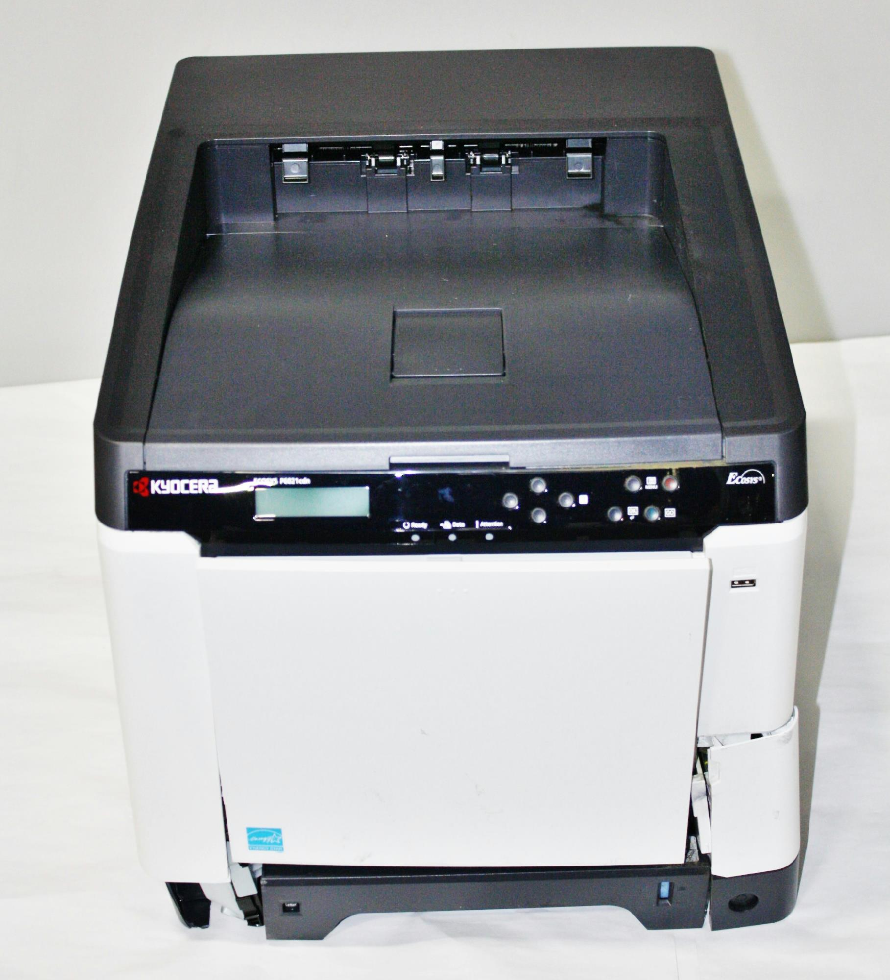 kyocera ecosys p6021cdn printer 1102ps2us0 for parts. Black Bedroom Furniture Sets. Home Design Ideas