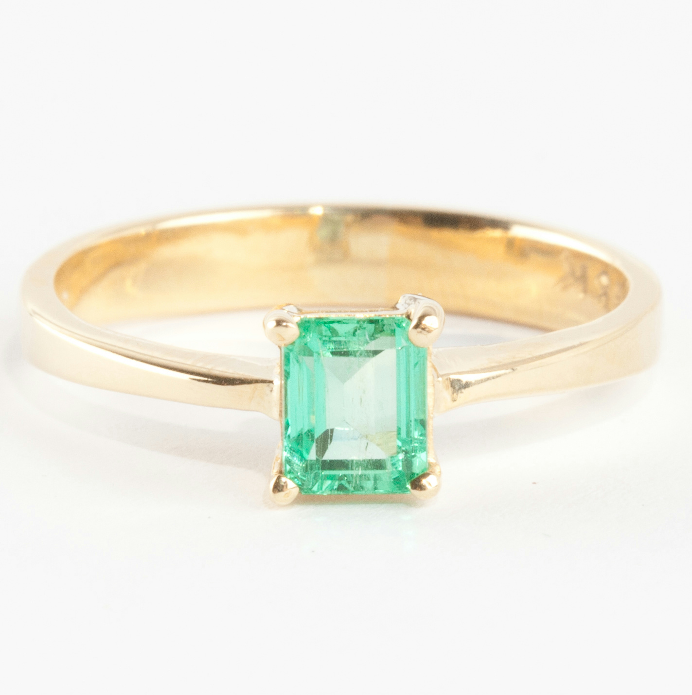 natural ring fine stone vivid diamond green emerald gia plat ugs aaa rings