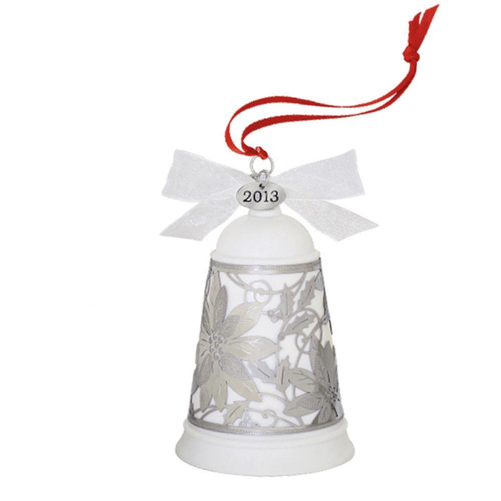 Hallmark club ornament glad tidings bell porcelain