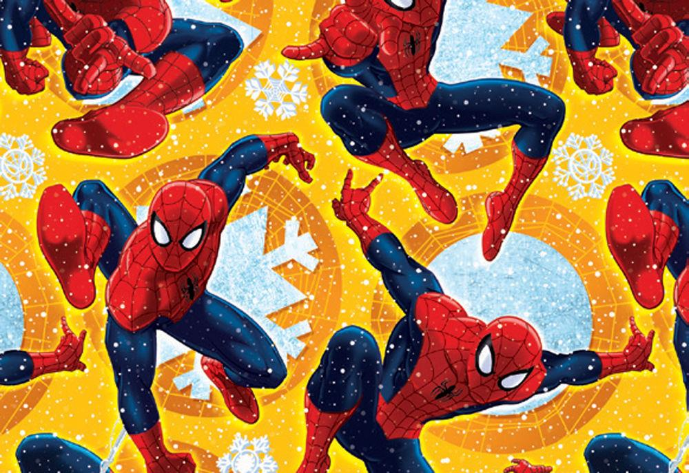 spiderman wrapping paper