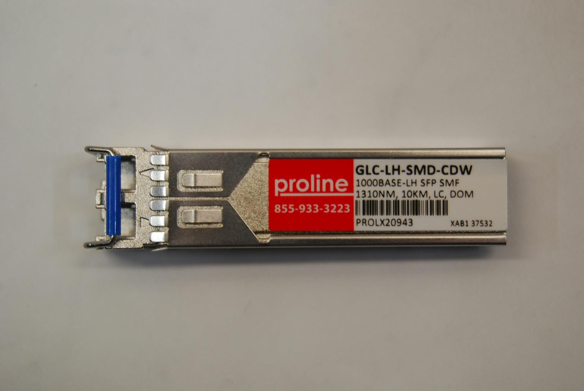 PROLINE GLC-LH-SMD-CDW 1000BASE-LX//LH SFP Transceiver Module 1310NM 800130096