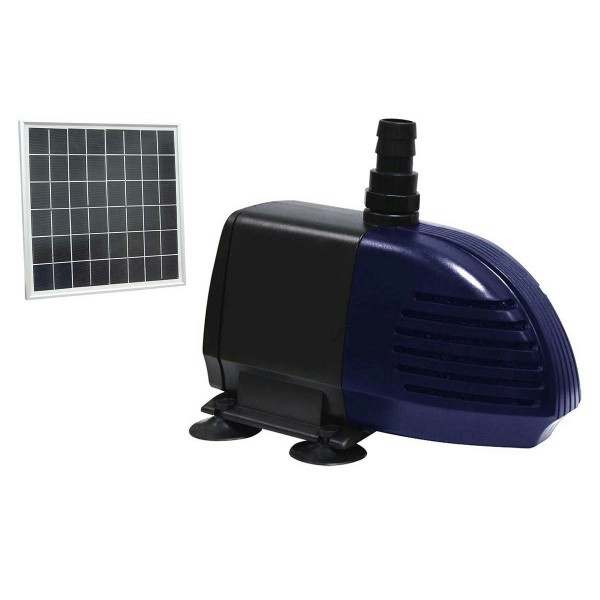 Alpine Hybrid Solar Powered Pond Water Garden Pump 280gph With Solar Panel Ebay