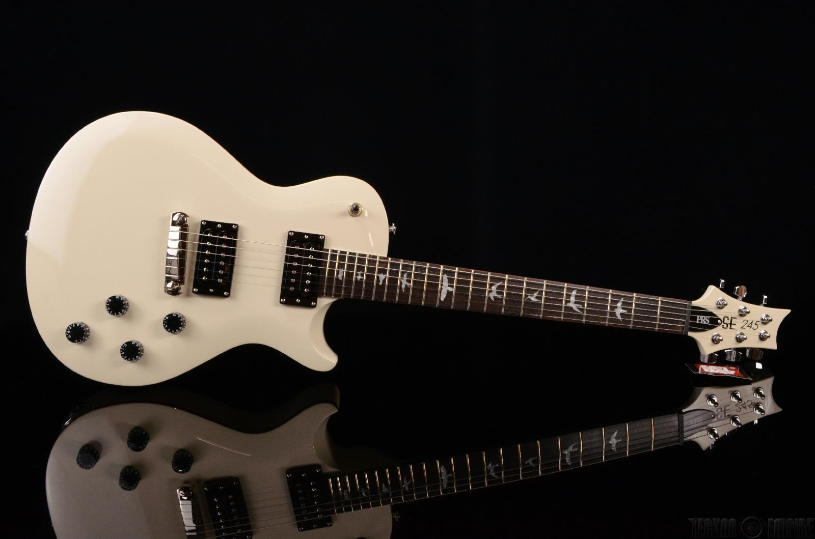 prs paul reed smith se 245 antique white electric guitar new 20123. Black Bedroom Furniture Sets. Home Design Ideas