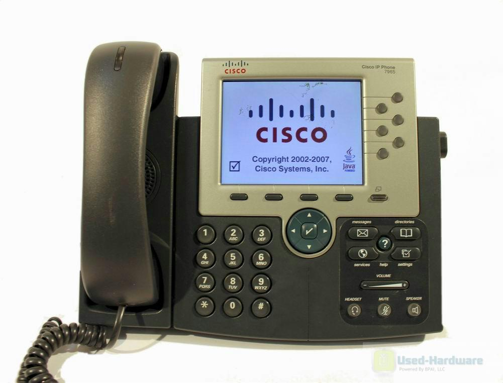cisco ip phone 7965 manual