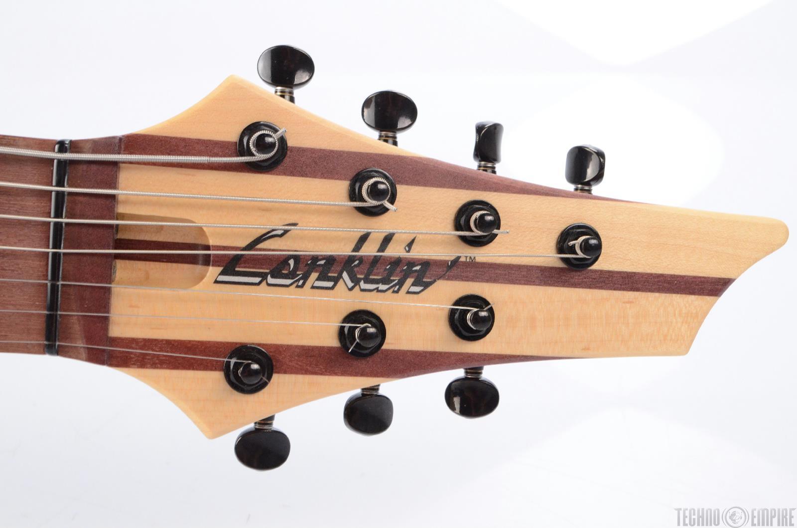 conklin sidewinder 7 string scalloped electric guitar bass tar 16479 ebay. Black Bedroom Furniture Sets. Home Design Ideas