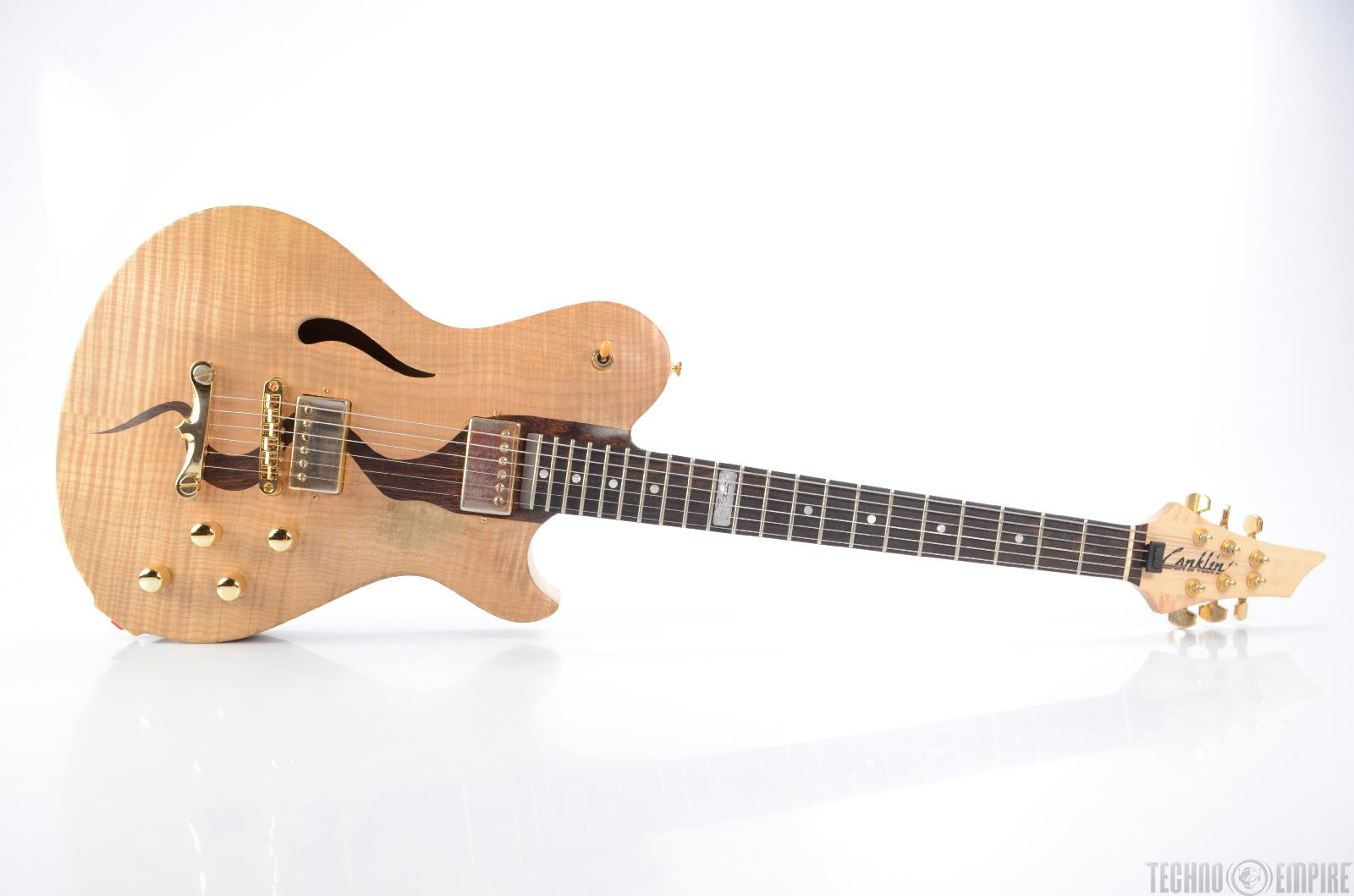 1998 CONKLIN Custom Hollowbody Crossover Jazz Electric Guitar #16626