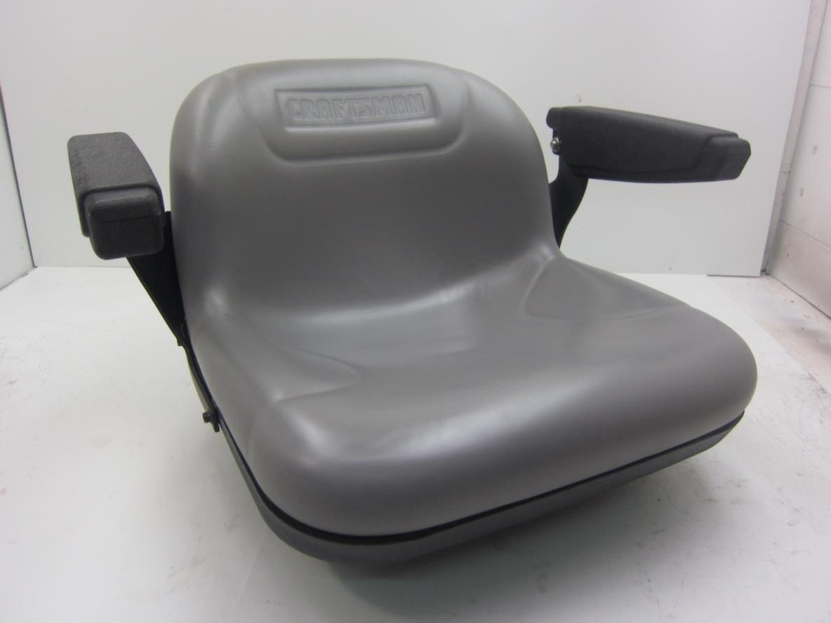 Used Craftsman Tractor Seat : Sears craftsman lawn mower garden tractor seat w arm rest