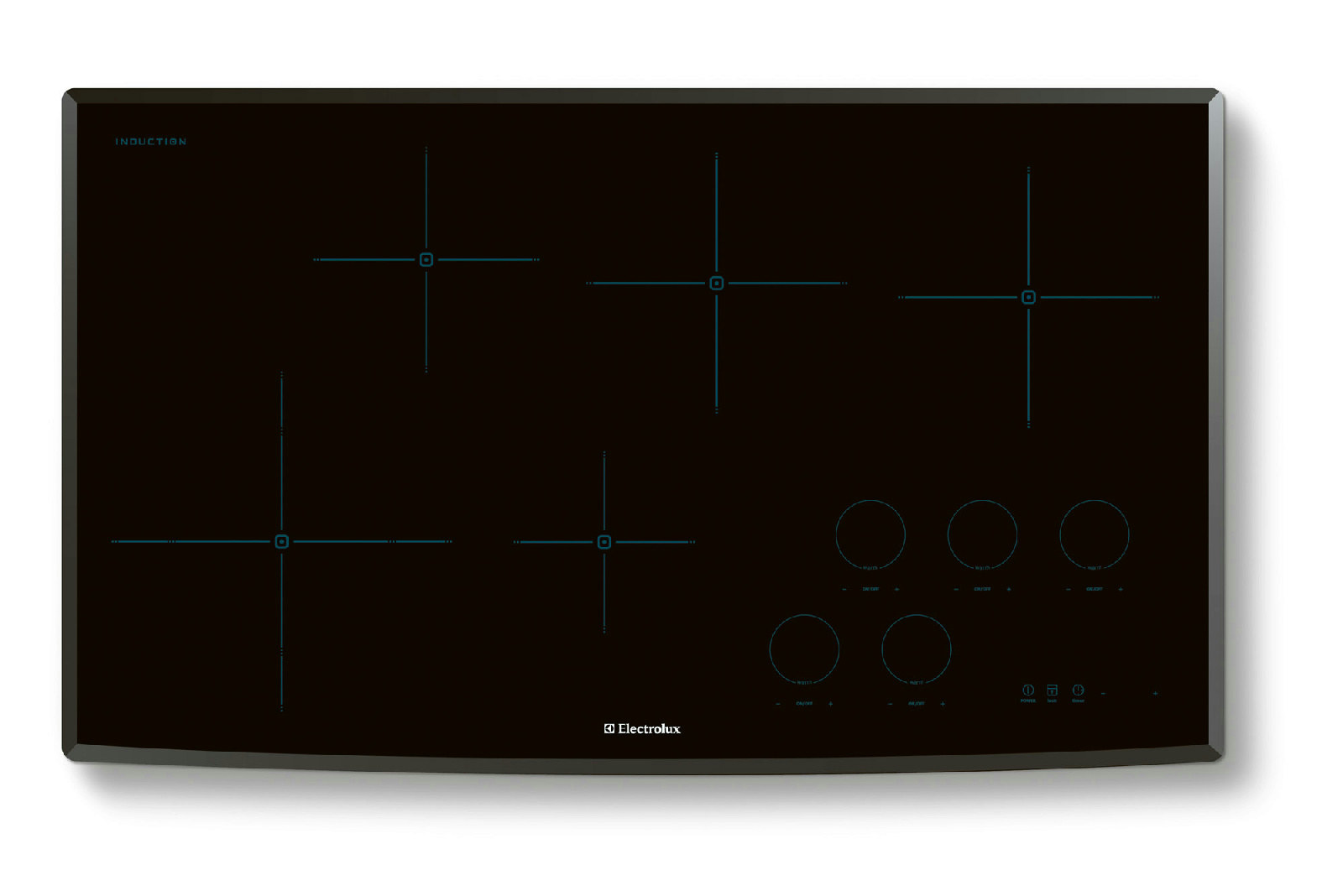 Electrolux 36 Induction Cooktop With 5 Cooking Zones Ew36ic60ls Circuit Diagram Of Cooker Images