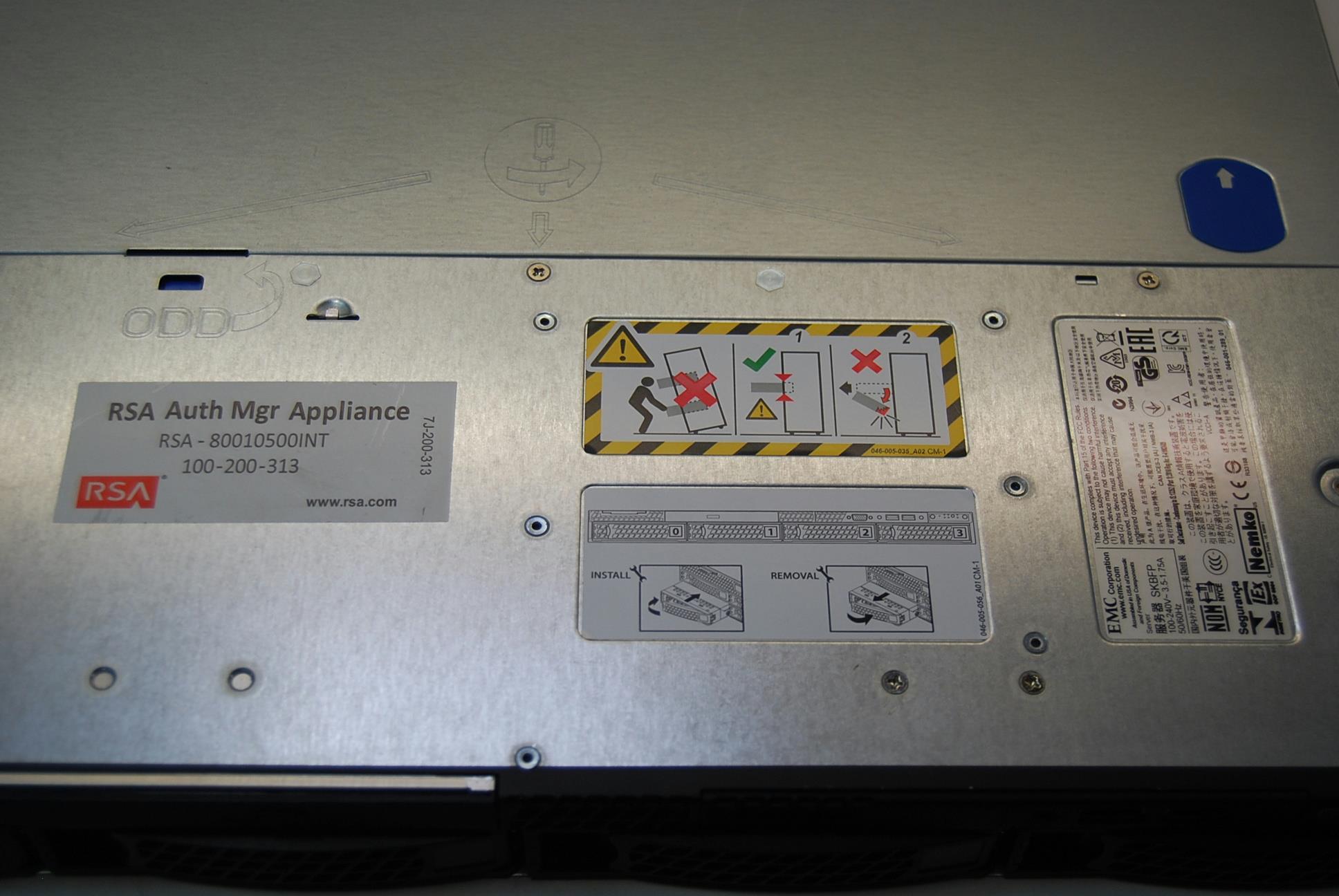 rsa securid appliance 130 manual