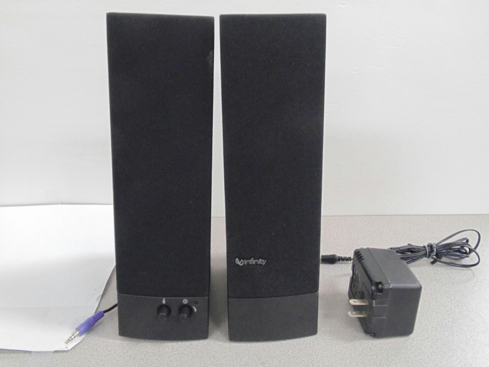 goodtech 520 infinity 11 black desktop speakers infinity 11 black