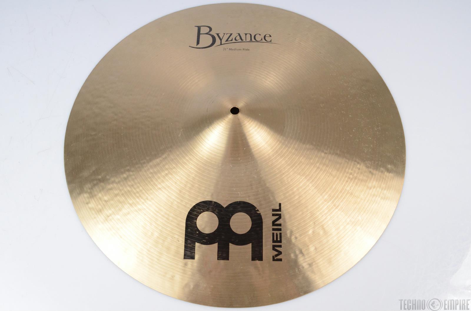"MEINL Byzance Traditional 21"" Medium Ride Cymbals #21355"