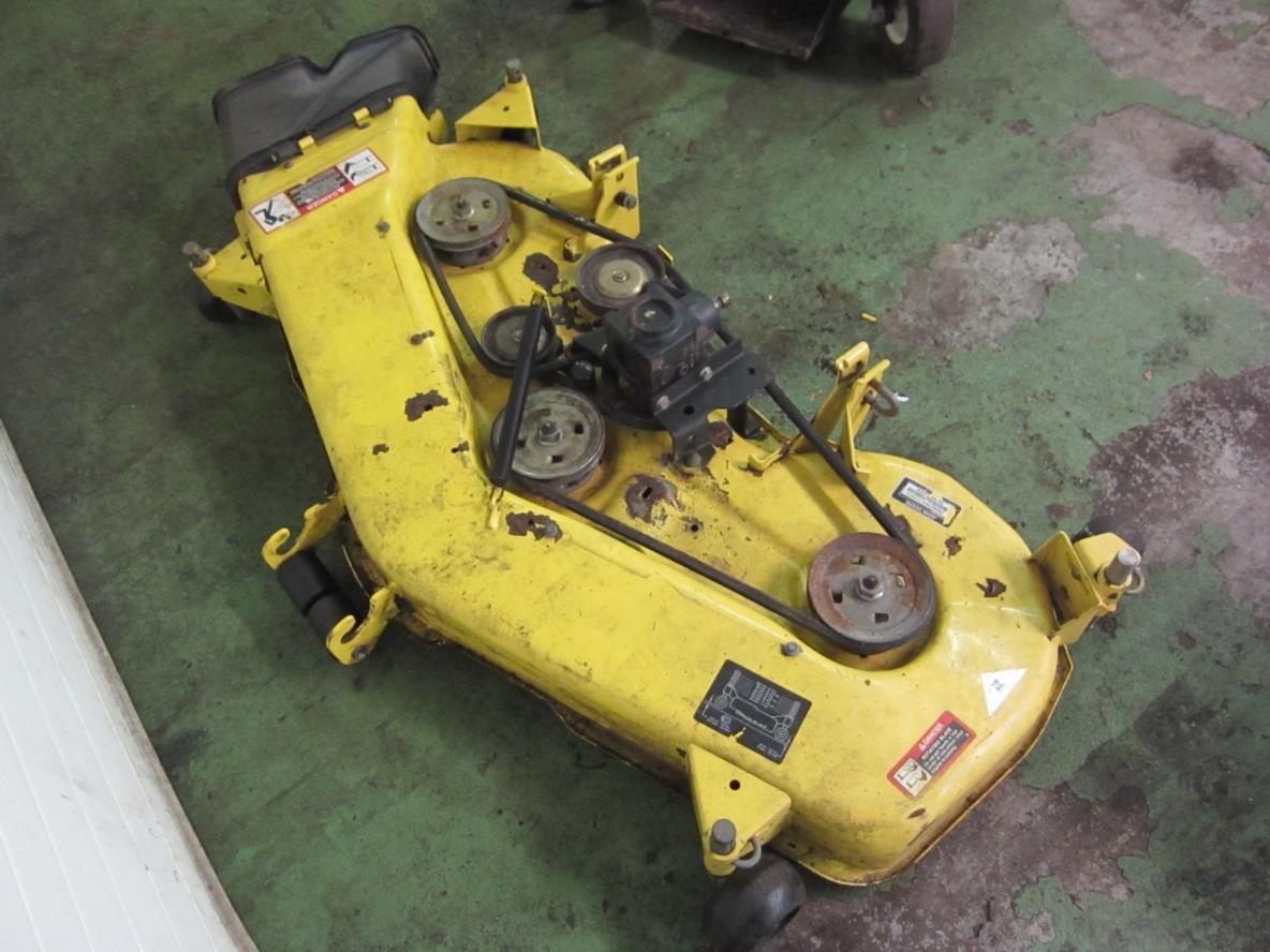 John Deere Mower Replacement Parts For 445 : John deere quot mower deck