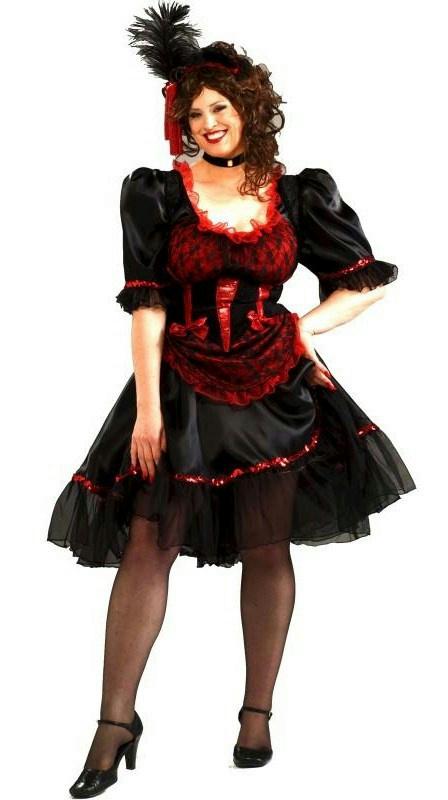 sexy redhead saloon girl