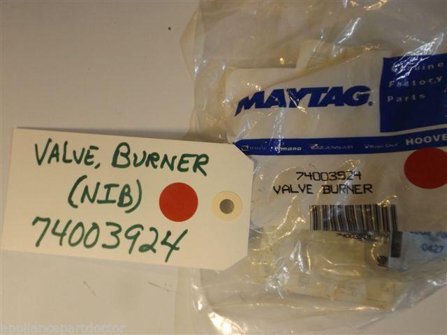 Maytag Stove Burner Valve 74003924 NEW IN BOX