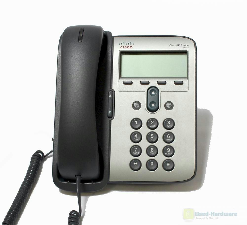 Cisco Cp 7911g Unified Ip Phone 7911 Voip Phone Sccp