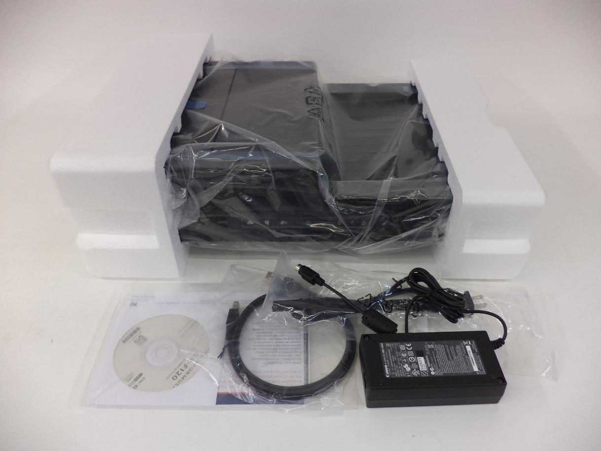 Details about Canon 9017B002 imageFORMULA DR-F120 Document Scanner - NOB