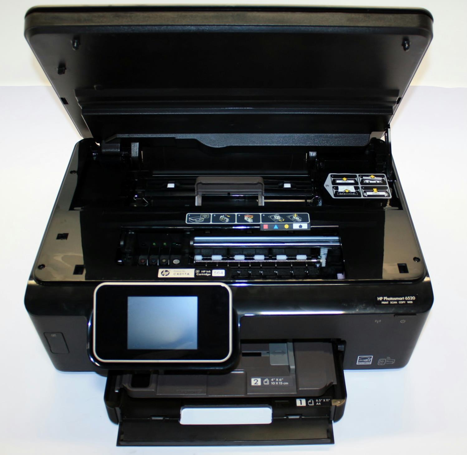 HP Photosmart 6520 *For Parts* Wireless AIO Inkjet Printer CX017A#B1H  800124054