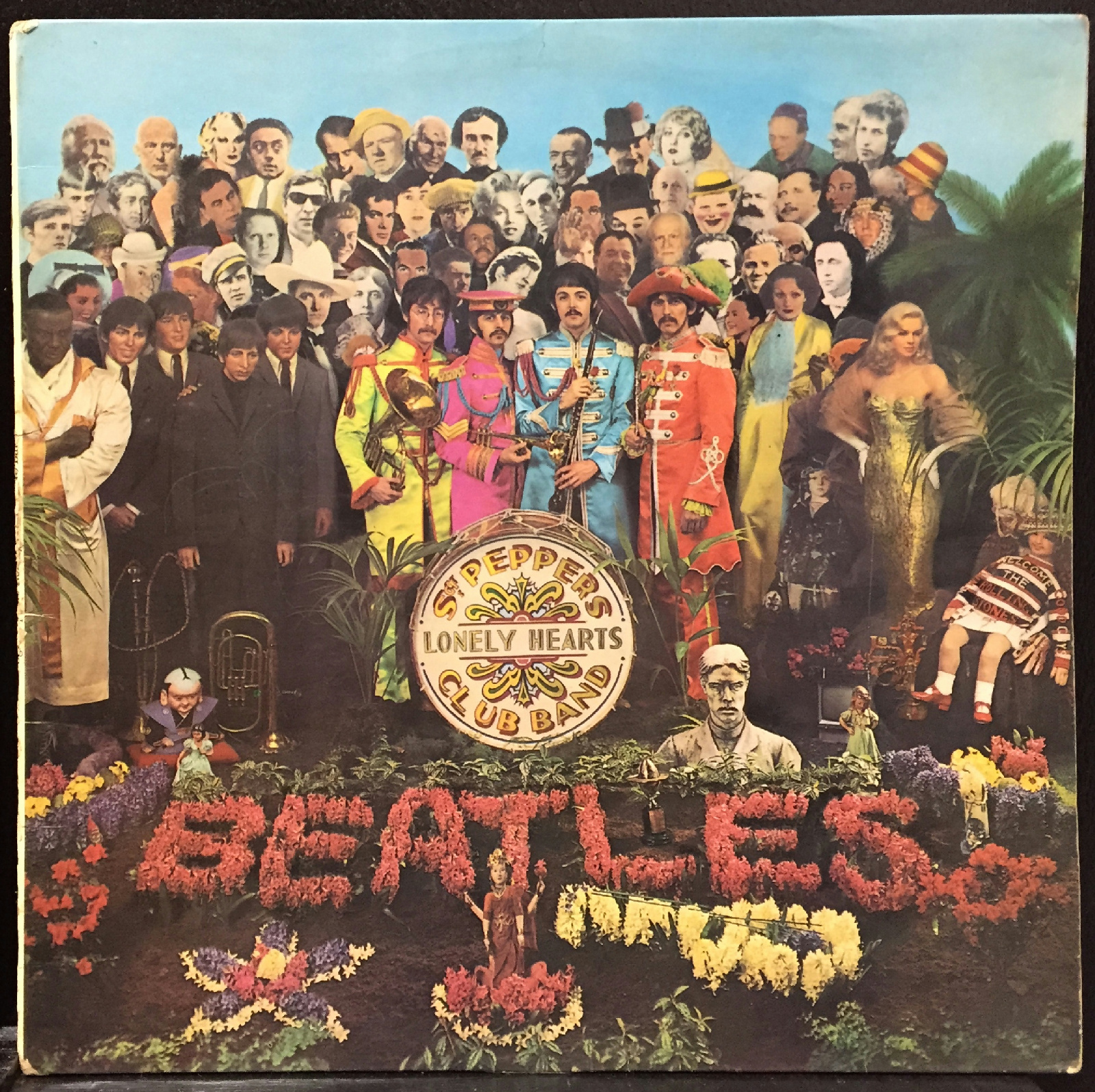Beatles Sgt Pepper S Lonely Hearts Club Band Lp Vg Pmc