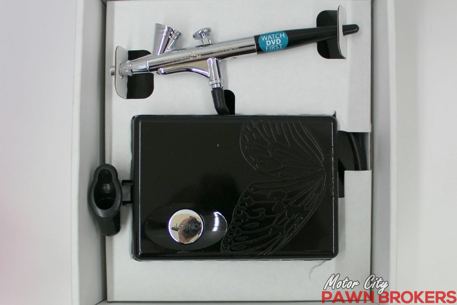 Luminess Air Signature System Black Airbrush Makeup System Brand New ...