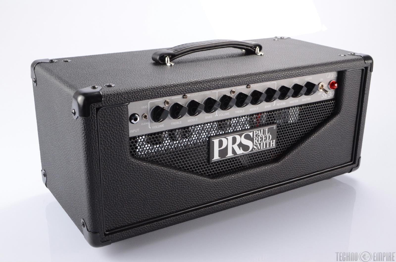 prs paul reed smith se 30 30w tube guitar amplifier head new 20156 ebay. Black Bedroom Furniture Sets. Home Design Ideas