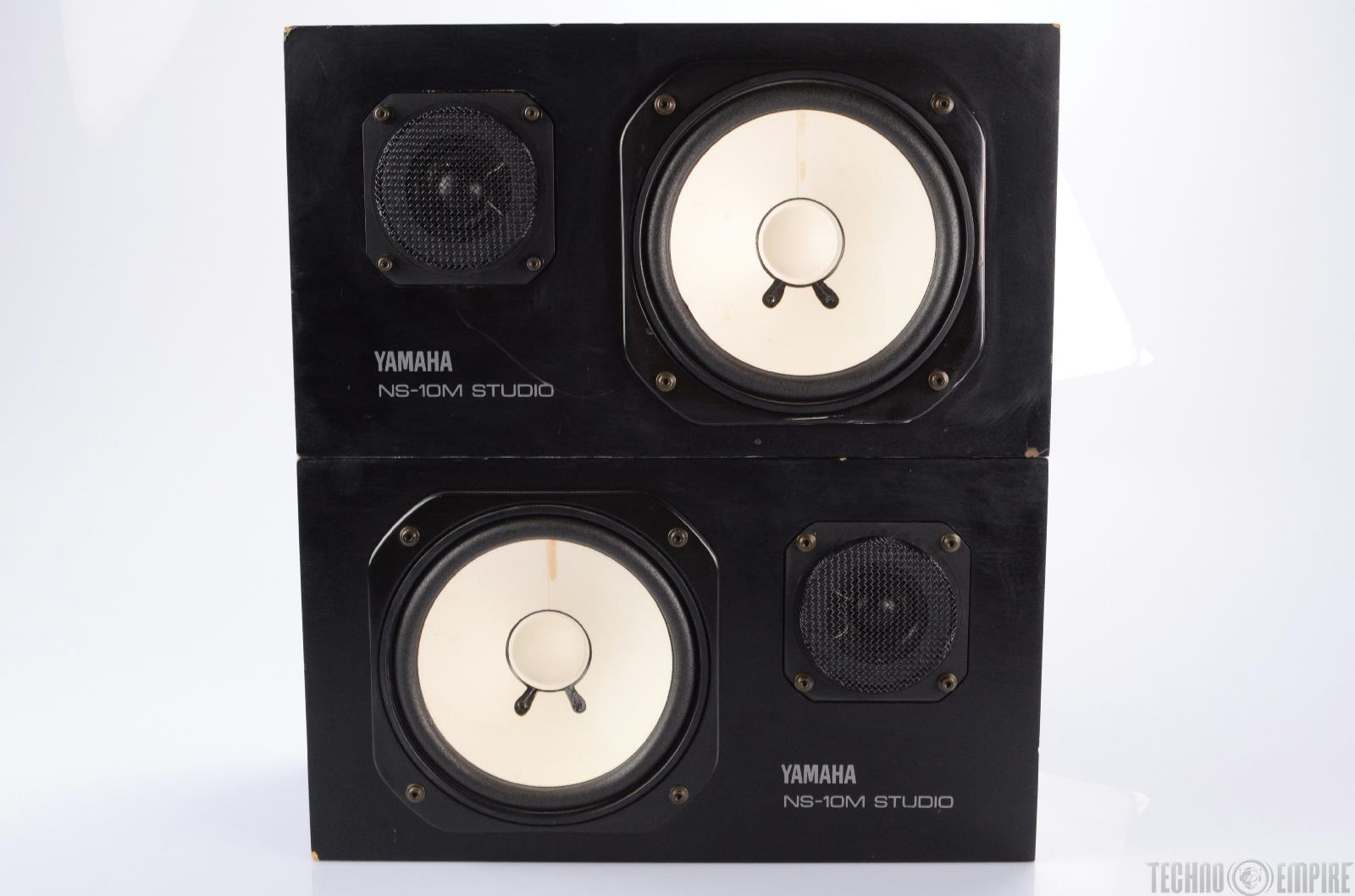 yamaha ns 10m studio monitor speaker matched pair new. Black Bedroom Furniture Sets. Home Design Ideas