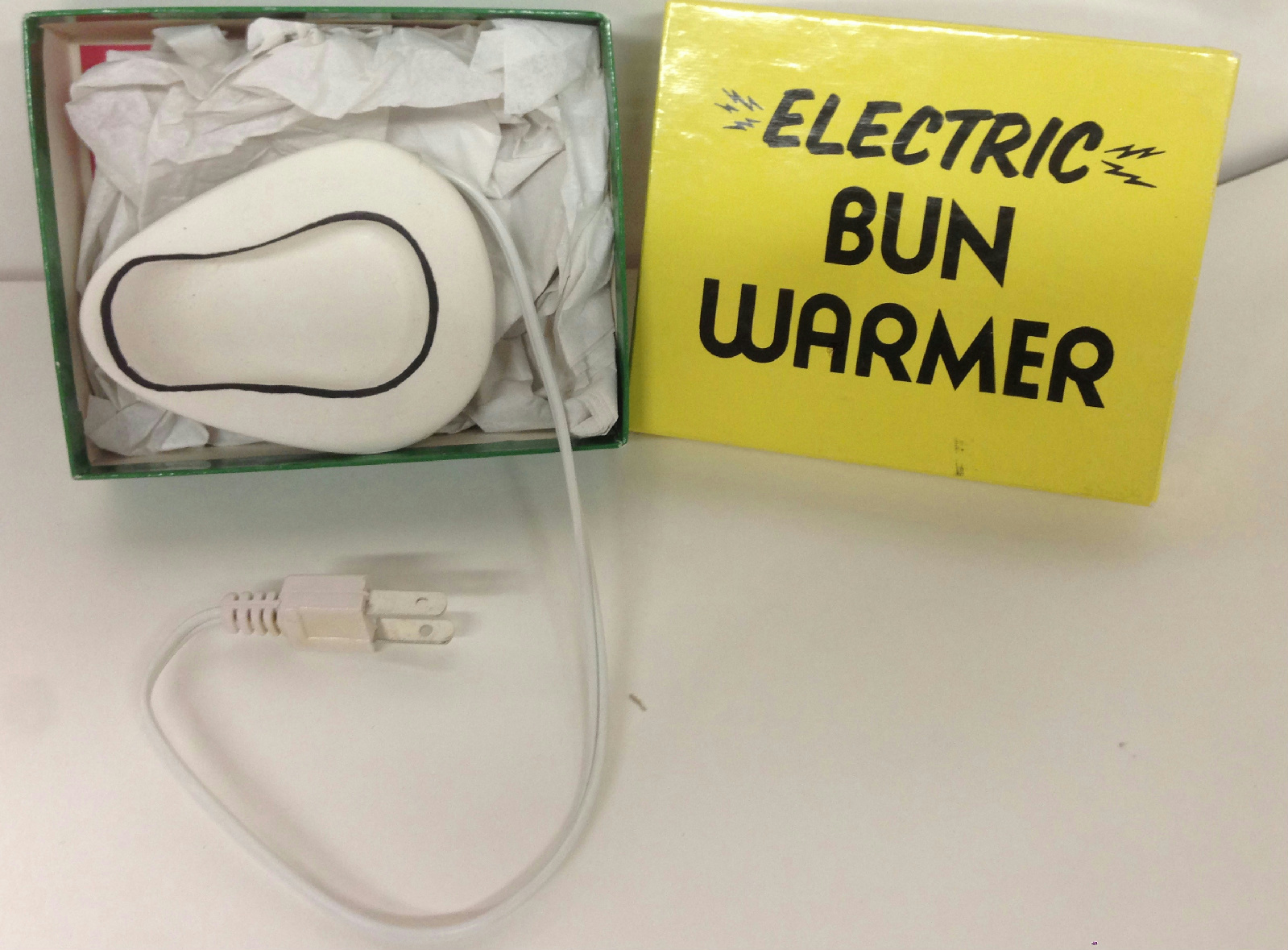 Electric Bun Warmer ~ Electric bun warmer over the hill birthday gift box ebay