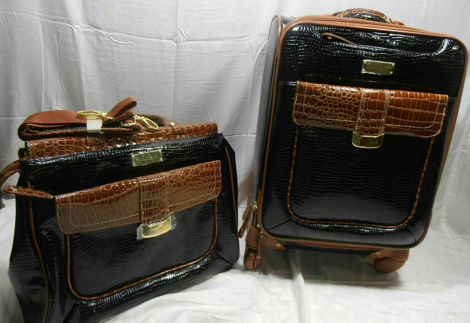 Samantha Brown Luggage Qvc: Samantha Brown First Class Collection 2-piece Set Luggage