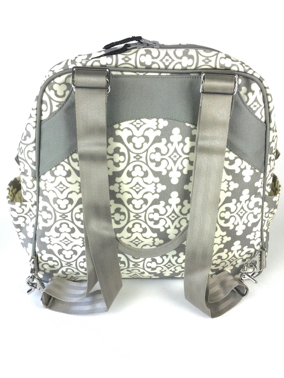petunia pickle bottom sashay satchel diaper bag backpack breakfast in berkshire ebay. Black Bedroom Furniture Sets. Home Design Ideas